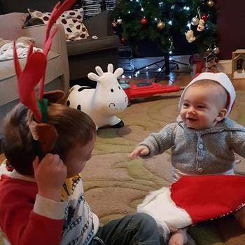 Surviving Christmas with Two Children